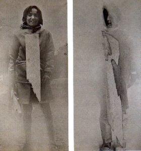 1969. Chica, chico en Londres.