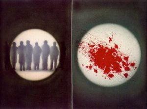 1972. Manchas de sangre.