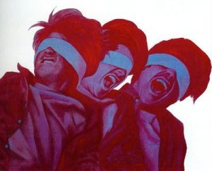 1977. Ojos vendados.