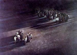1986. Panorama, conversación.