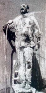 1995. Autorretrato manga.