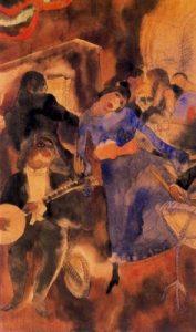 1915. Marshall´s. Acuarela.