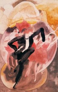 1918. Vodevil, bailarines con coro.