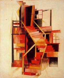 1920. Escaleras, Provincetown.