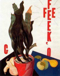 1923. Retrato de cartel, Georgia O´Keeffe.
