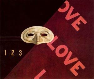 1928. Love, love. love. Homenaje a Gertrude Stein. Óleo sobre tabla. Museo Thyssen-Bornemisza.