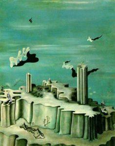 1930. No leyendas ni figuras. Óleo sobre lienzo. The Menil Collection. Houston. Texas. USA.