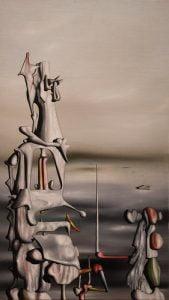 #nelsonatkins #painting #yvestanguy